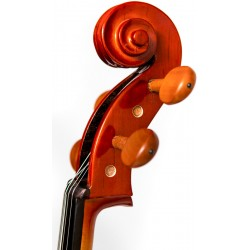 Fiberglass viola case Tonareli - Orange