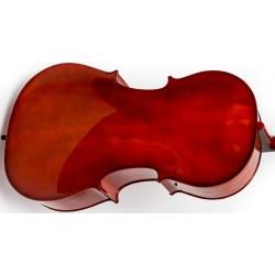 Fiberglass violin case Tonareli - Red