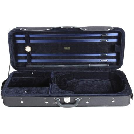Étui en foam pour alto Classic 39-42 M-case Noir - Bleu Marine