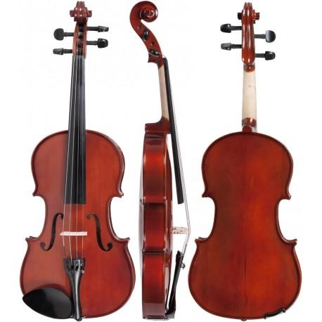 """Bratsche (Viola) 14"""" 35,5cm M-tunes No.140 hölzern - spielbereit"""