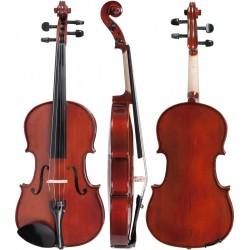 """Bratsche (Viola) 13"""" 34cm M-tunes No.140 hölzern - spielbereit"""