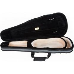 Étui en foam pour violon Dart-150 1/2 M-case Gris - Beige