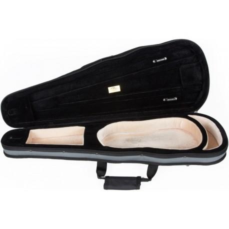 Futerał skrzypcowy skrzypce Dart-150 1/2 M-case Siwo - Beżowy
