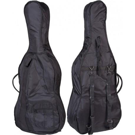 Cello Tasche Classic 4/4 M-case Schwarz