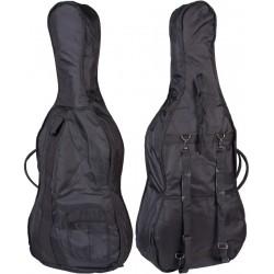 Sacoche pour de violoncelle Classic 1/2 M-case Noir