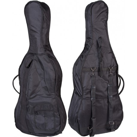 Sacoche pour de violoncelle Classic 1/4 M-case Noir