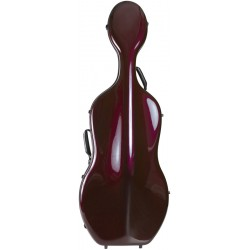 Carbon Fiber cello case Classic 4/4 M-case Burgundy