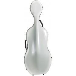 Karbon futerał wiolonczelowy wiolonczela Classic 4/4 M-case Biały