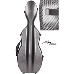 Étui en fibre de verre (Fiberglass) pour violon UltraLight 4/4 M-case Carbon Looking