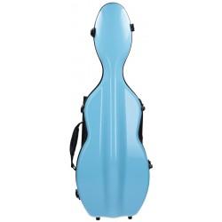 Étui en fibre de verre (Fiberglass) pour violon UltraLight 4/4 M-case Bleu Clair