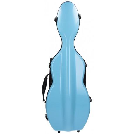 Geigenkoffer Glasfaser UltraLight 4/4 M-case Hellblau