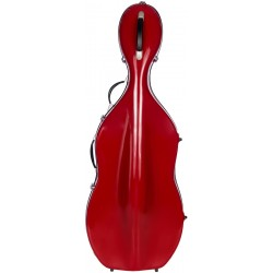 Fiberglass cello case Classic 4/4 M-case Burgundy
