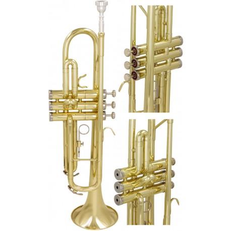 Trumpet B, Bp Student M-tunes - Gold