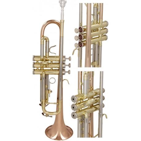 Trumpet B, Bp Solist-2 M-tunes - Gold