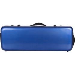 Étui pour alto en fibre de verre Fiberglass Oblong 38-43 M-case Bleu