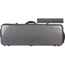 Fiberglass viola case Oblong 38-43 M-case Carbon Looking