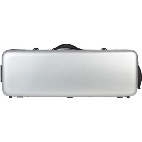 Fiberglass viola case Oblong 38-43 M-case Silver
