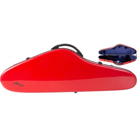 Fiberglass violin case SlimFlight 4/4 M-case Red