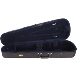 Étui en foam pour violon Dart-120 3/4 M-case Noir - Bleu Marine