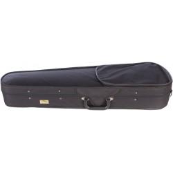 Étui en foam pour violon Dart-100 1/4 M-case Noir - Bleu Marine