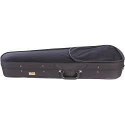 Foam violin case Dart-100 1/4 M-case Black - Navy Blue