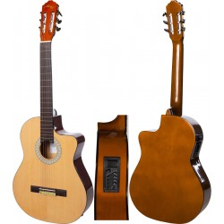 "Gitara elektroklasyczna 4/4 39"" M-tunes MTC209CE"