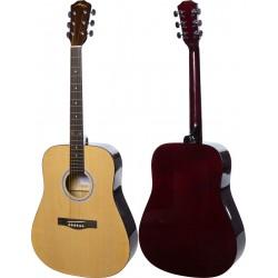 "Guitare acoustique 4/4 41"" M-tunes MTF29H"