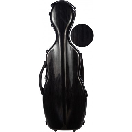 Fiberglass futerał skrzypcowy skrzypce Steel Effect 4/4 M-case Czarny