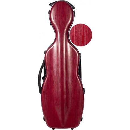 Fiberglass futerał skrzypcowy skrzypce Steel Effect 4/4 M-case Bordowy