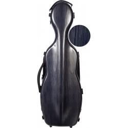 Violinkoffer Geigenkasten Glasfaser Steel Effect 4/4 M-case Marineblau