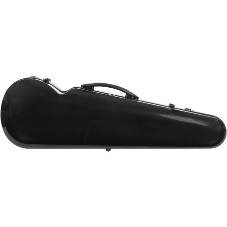 Étui en fibre de verre (Fiberglass) pour violon Vision 4/4 M-case Noir