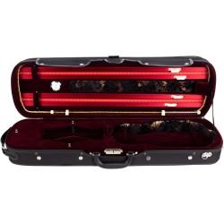 Futerał skrzypcowy skrzypce 4/4 Lord M-case Bordowy