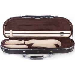 Étui en foam pour violon UltraLight 4/4 M-case Noir - Brun