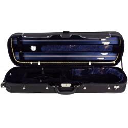 Oblong Hard Violin Case 4/4 Lord M-case Navy Blue