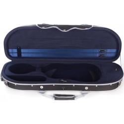 Étui en foam pour violon UltraLight 4/4 M-case Noir - Bleu Marine