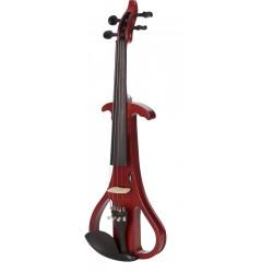 Elektrische Violine, E-geige 4/4 M-tunes MTSE403E hölzern - spielbereit + Profi