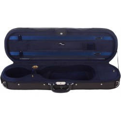 Foam violin case Premium 4/4 Mcase Black - Navy Blue
