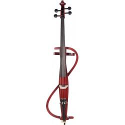 Elektrische cello, E-cello 4/4 M-tunes MTWE403E hölzern - spielbereit + Profi