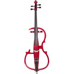 Elektrische cello, E-cello 4/4 M-tunes MTWE110BE hölzern - spielbereit + Profi