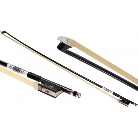 Violin bow 4/4 carbon fiber round M-tunes MT-SS100-KA