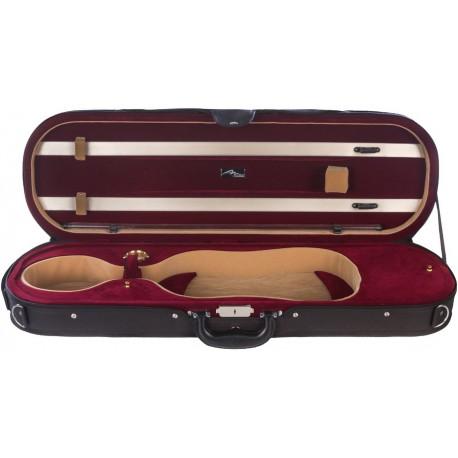 Futerał skrzypcowy skrzypce Premium 4/4 Mcase Czarno - Bordowy