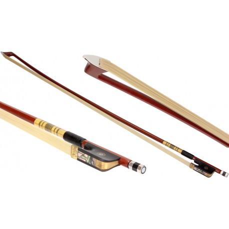 Smyczek wiolonczelowy 4/4 drewniany ośmiokątny M-tunes Classic