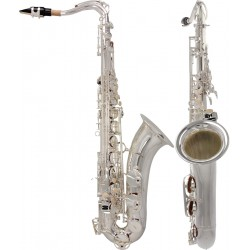 Saksofon tenorowy Bb, B Fis Concert M-tunes - Srebrny