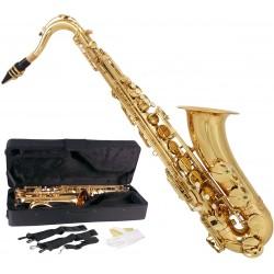 Saksofon tenorowy Bb, B Fis MTST0011G M-tunes - Złoty
