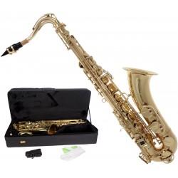 Saksofon tenorowy Bb, B Fis MTST0031G M-tunes - Złoty