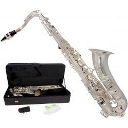 Saksofon tenorowy Bb, B Fis MTST0031S M-tunes - Srebrny