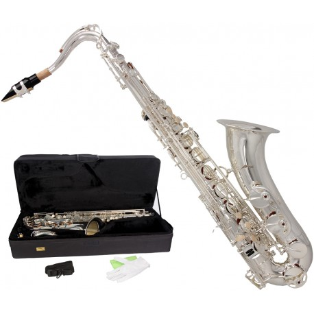 Tenor saxophone Bb, B Fis MTST0031S M-tunes - Silver