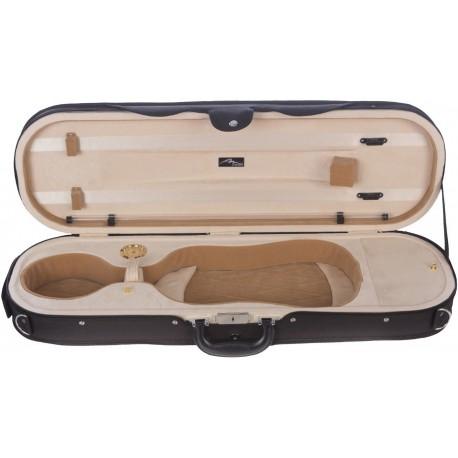 Futerał skrzypcowy skrzypce Premium 4/4 Mcase Czarno - Kremowy