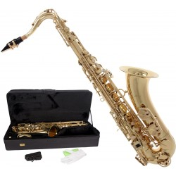 Saksofon tenorowy Bb, B Fis MTST0032G M-tunes - Złoty