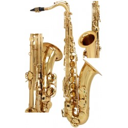 Saksofon tenorowy Bb, B Fis SaxT1100G M-tunes - Złoty